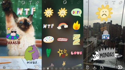 Snapchat added over 300 new stickers you can put on your snaps