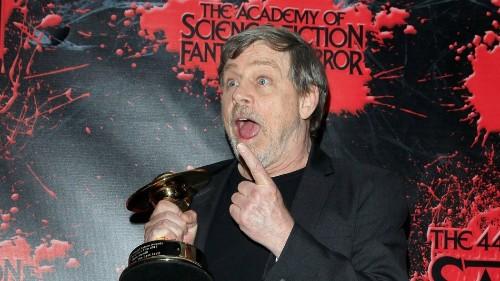 Mark Hamill went full dad joke with the Star Wars 'Episode IX' trailer