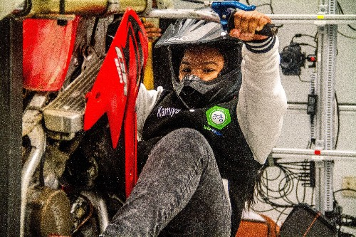 How one woman turned dirt biking into a STEM pipeline for black youth