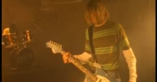 All it takes to destroy grunge rock is to play 'Smells Like Teen Spirit' in a major chord