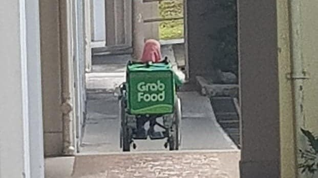 This Singaporean was getting impatient about his delayed GrabFood delivery, but it all changed when he saw the rider - Culture