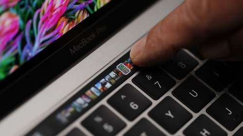 Apple MacBook Pro Touch Bar lets you skip YouTube ads