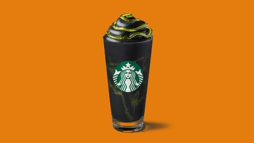 Starbucks is launching a black Phantom Frappuccino for Halloween and it's goth as f***