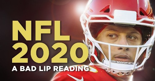 The NFL 2020 Bad Lip Reading is finally here, and it's hilarious