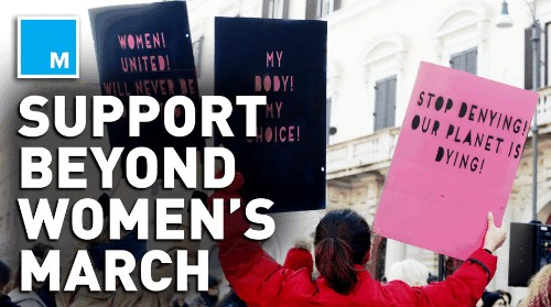 4 ways to extend your activism beyond the Women's March