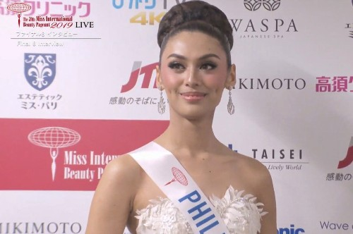 Miss International 2019 results are in and Filipinos are not happy