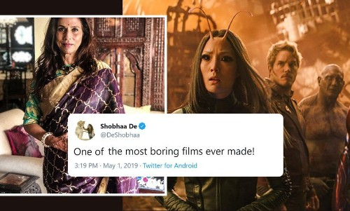 Shobha De's 'Avengers: Endgame' Review Is Exactly What's Wrong With Film Critics Today