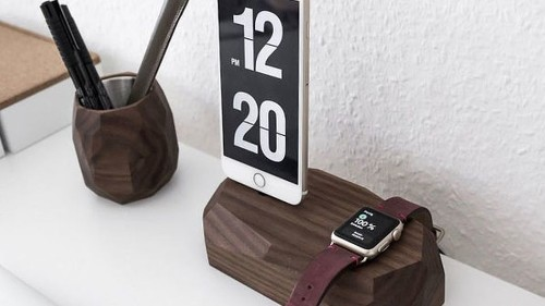 Organize your desk with these beautiful charging stands that are on sale
