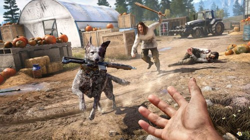 In 'Far Cry 5,' when the going gets weird, the game gets awesome