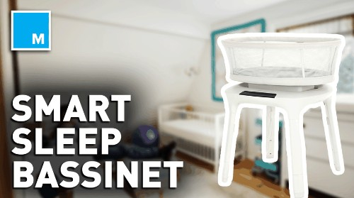 Your child may get a better night's sleep with this smart bassinet — Future Blink