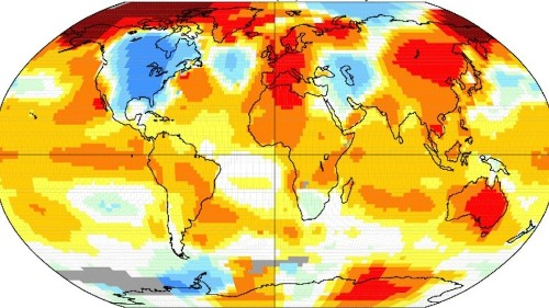 The charts that show we're living through Earth's warmest year on record