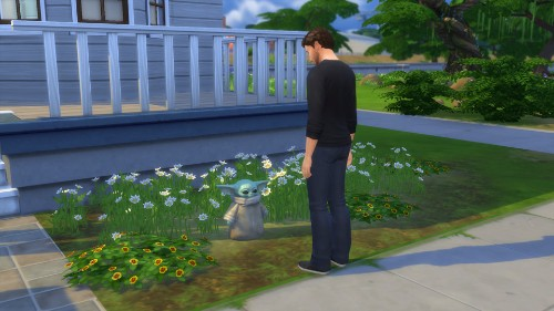 Baby Yoda Is Everywhere, Including The Latest 'The Sims 4' Update - Entertainment