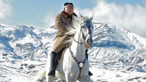 Kim Jong-un riding a majestic white horse is the perfect wallpaper. Don't @ me. - Culture