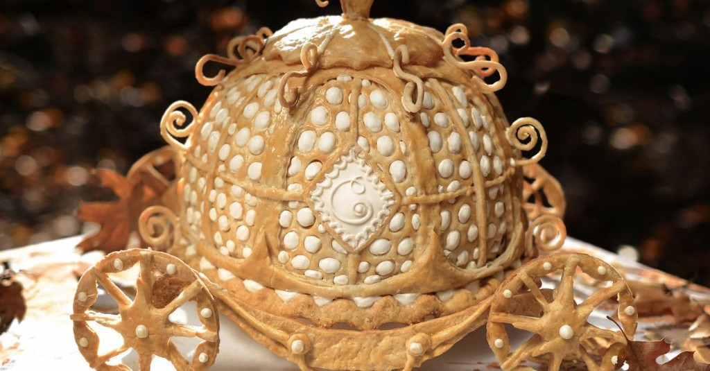 Cinderella-inspired pumpkin pie carriage is a dessert fit for a princess