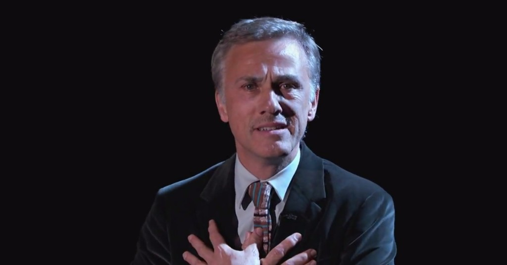 Christoph Waltz performs a heart-wrenching version of 'Sesame Street' song