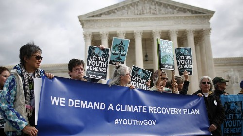 Supreme Court says these young climate activists can sue the federal government