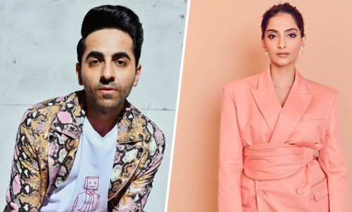 Sonam Kapoor And Ayushmann Khurrana Take On The Saree Twitter Challenge With A Twist!