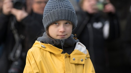 Greta Thunberg responds to Meat Loaf's climate denial comments in the classiest way possible