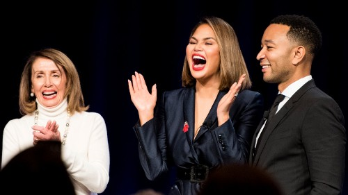 Chrissy Teigen to House Democrats: Women should say 'f*ck you' more often