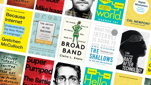10 books about tech for every kind of person in your life