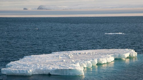 Alaska's sea ice has completely melted away