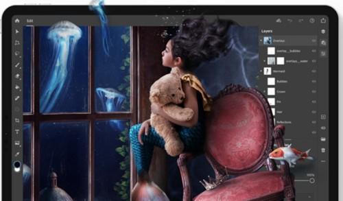Adobe finally releases Photoshop on iPad