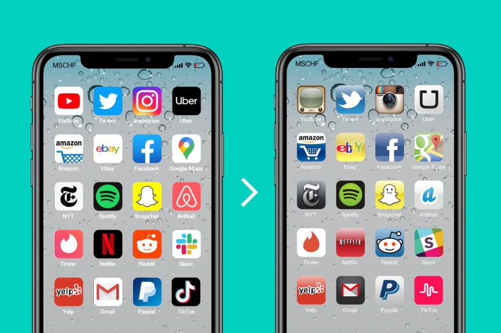Vi mancano le icone 'vintage' sul vostro iPhone? Ecco come riaverle