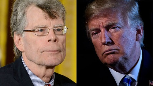 Stephen King has strong words following Trump's tweet about Omarosa