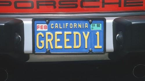 He tried to prank the DMV. Then his vanity license plate backfired big time.