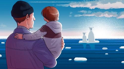Come parlare ai bambini del cambiamento climatico senza spaventarli - Ambiente