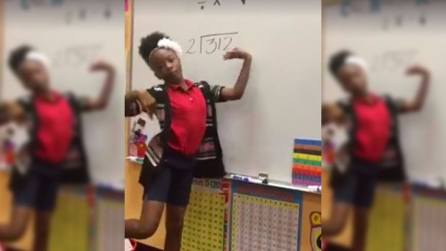 Students' catchy long division song will be stuck in your head all day