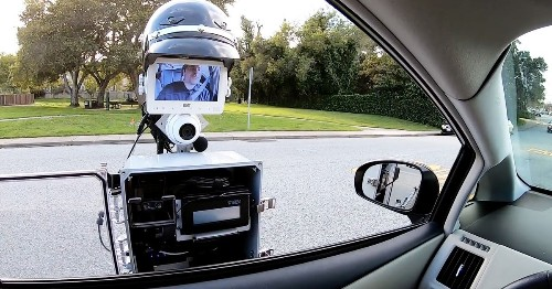 This robot could write you a ticket for speeding — Strictly Robots