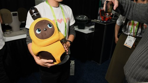 This cuddly $6,000 robot will warm your cold, dead heart