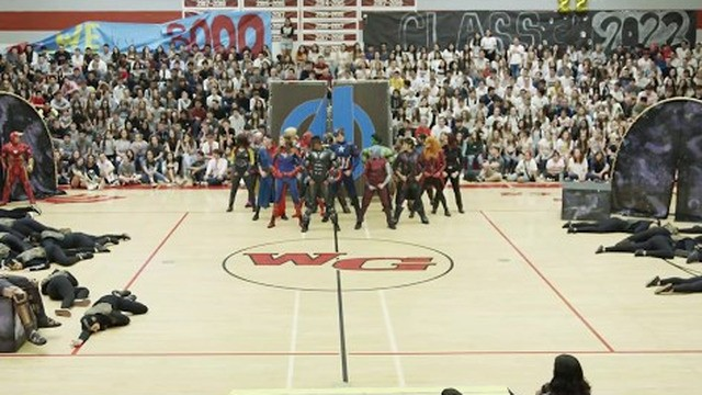 Skip the Avengers marathon and watch students dance to 'Infinity War' and 'Endgame'
