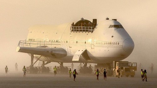 The 747 that went to Burning Man: What really happened