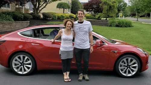 Forget range anxiety, this couple drove across the country in a Tesla