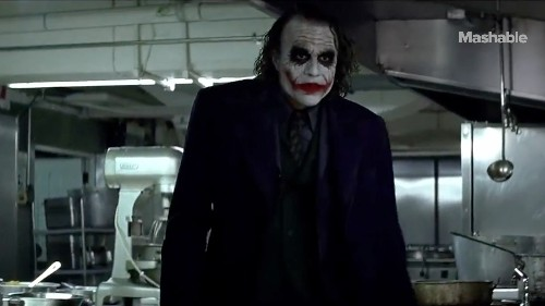 Heath Ledger's Joker auditions to be a party clown — Altered Movie Scenes