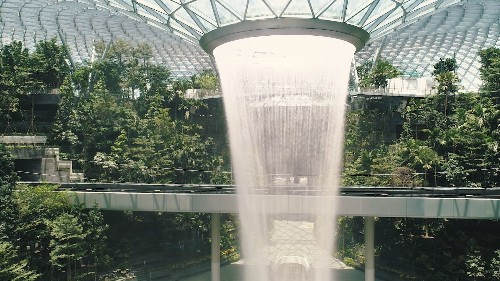 It was the world's best airport. Now, with a new waterfall and garden, Singapore's signature hub is beyond compare.