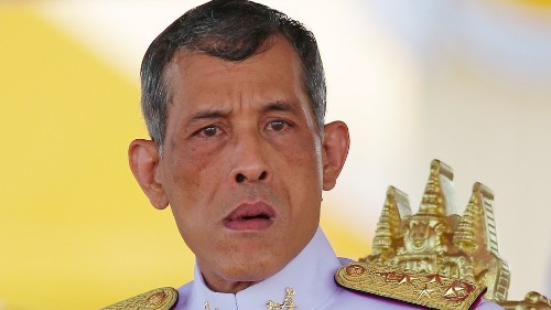 The BBC's in trouble for a story it ran on the new king of Thailand