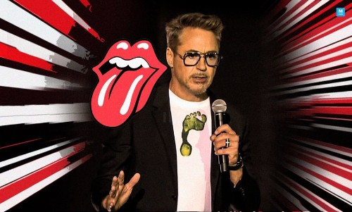 Robert Downey Jr. Crashed A Rolling Stones Concert To Help NASA Announce Something Cool!