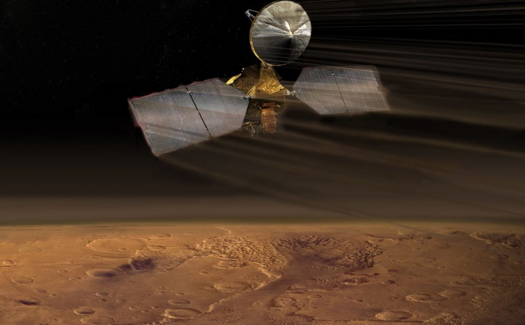 NASA Celebrates 15 Years Of Mars Orbiter With Stunning Photos