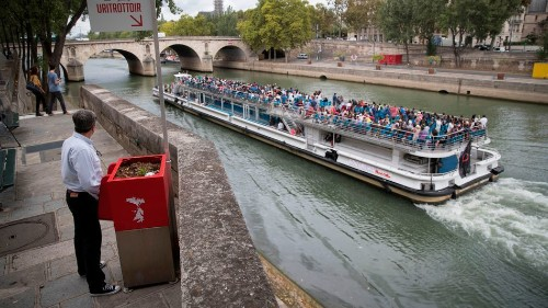 Paris residents are pissed over rather public eco-friendly urinals