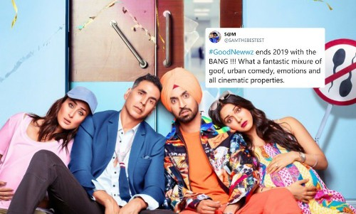 'Good Newwz' Early Reactions Claim Akshay Kumar's Latest Is An Unmissable Laughter Fest - Entertainment
