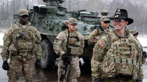Attn. Vladimir Putin: U.S. and NATO beef up defenses on Russian border