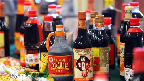 A ring of 50 Chinese factories making fake, toxic brand name sauces has been discovered