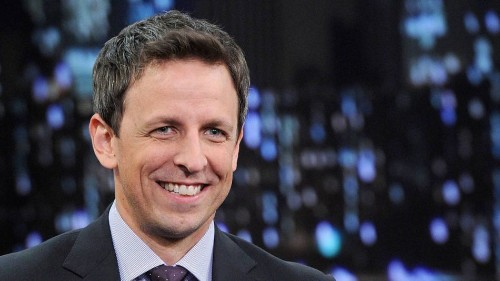 Seth Meyers on his comedy best friends and the 'SNL' sketch that never was