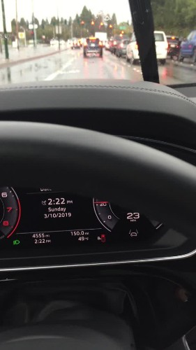 Audi's connected car feature barely helped me catch more green lights