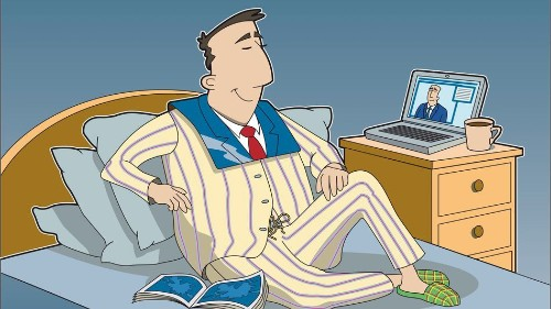 In love with your pajamas? Learn how to work from home effectively