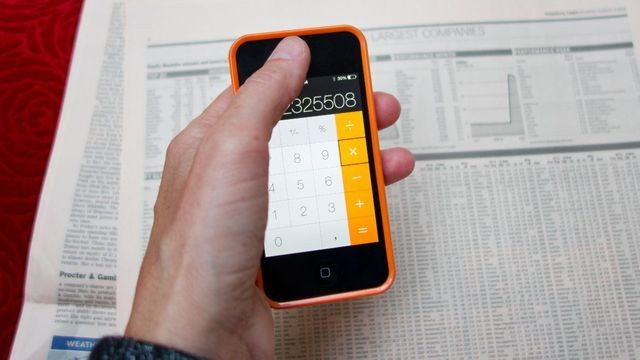 Holy crap, there's a backspace function on the iPhone calculator