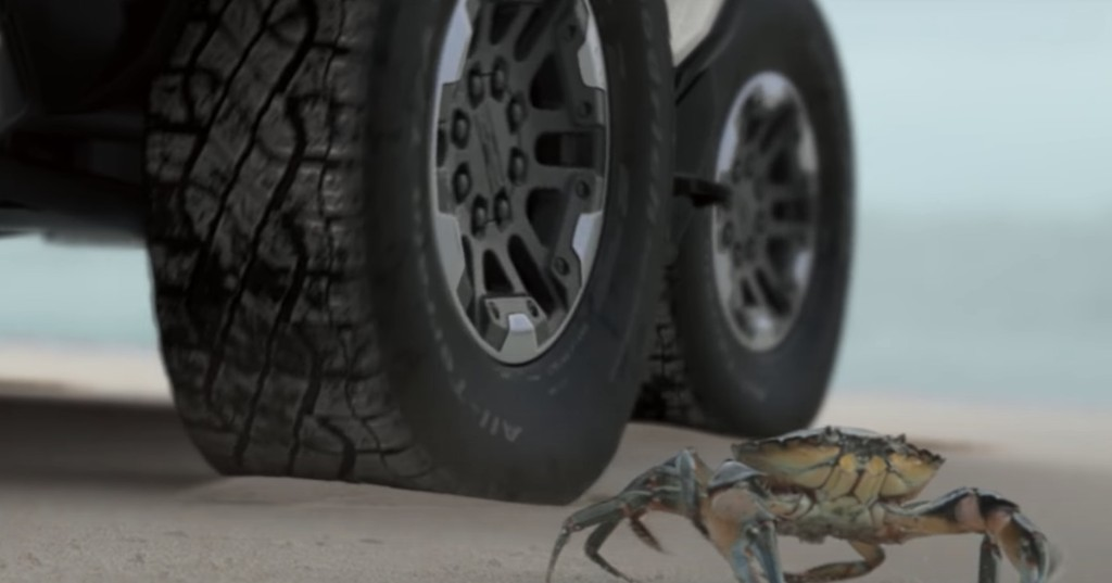See Hummer EV do its CrabWalk move on video